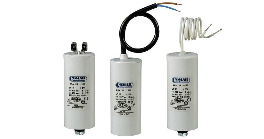 condensateur pour moteur COMAR MKA